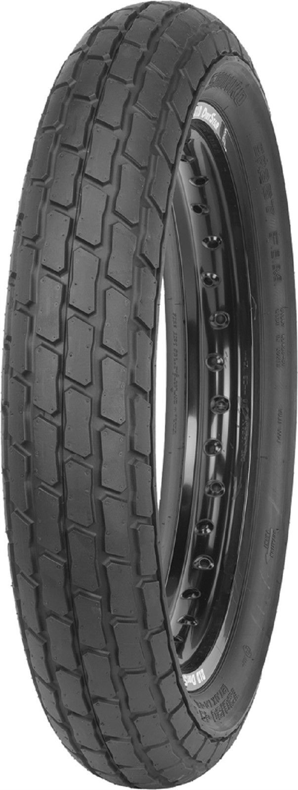 New Shinko SR267 Front 130/80-19 Hard Compound Flat Track Racing  67H DOT