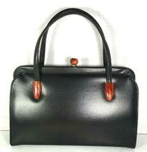 Garay True Vintage Black Faux Leather Handbag - $58.19