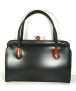 Garay True Vintage Black Faux Leather Handbag - $58.19
