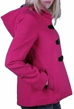 Iron Fist Heads Up Women's Pink PeaCoat NWT image 2