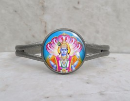 Choose Hindu Deity Hinduism God Goddess Cuff Bracelet - $17.00