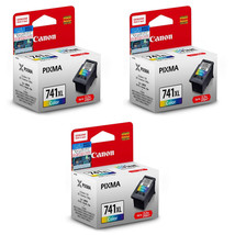 Canon Tri-Color Ink Cartridge (for MG4270/MG4170/MX537/MX527)(3pcs), CL-741XL - $123.99