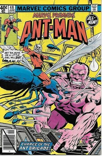 Primary image for Marvel Premiere Comic Book #48 NEW Ant-Man 1979 VERY FINE-