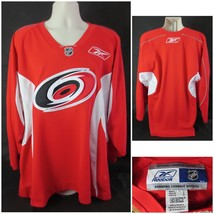 NEW!! Reebok Carolina Hurricanes Sewn Men's Large L/S Hockey Jersey - €31,52 EUR