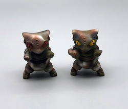 Max Toy Pair of Camouflage Mini Mecha Nekoron - Rare image 2