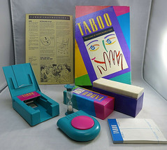 1989 Taboo The Game Of Unspeakable Fun Factory Brand New Factory Buzzer - $30.00