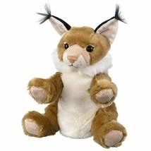 "Wild and Wonderful Wildlife Artists Bobcat 10"" Plush Puppet Toy, Bobcat... - $14.65"