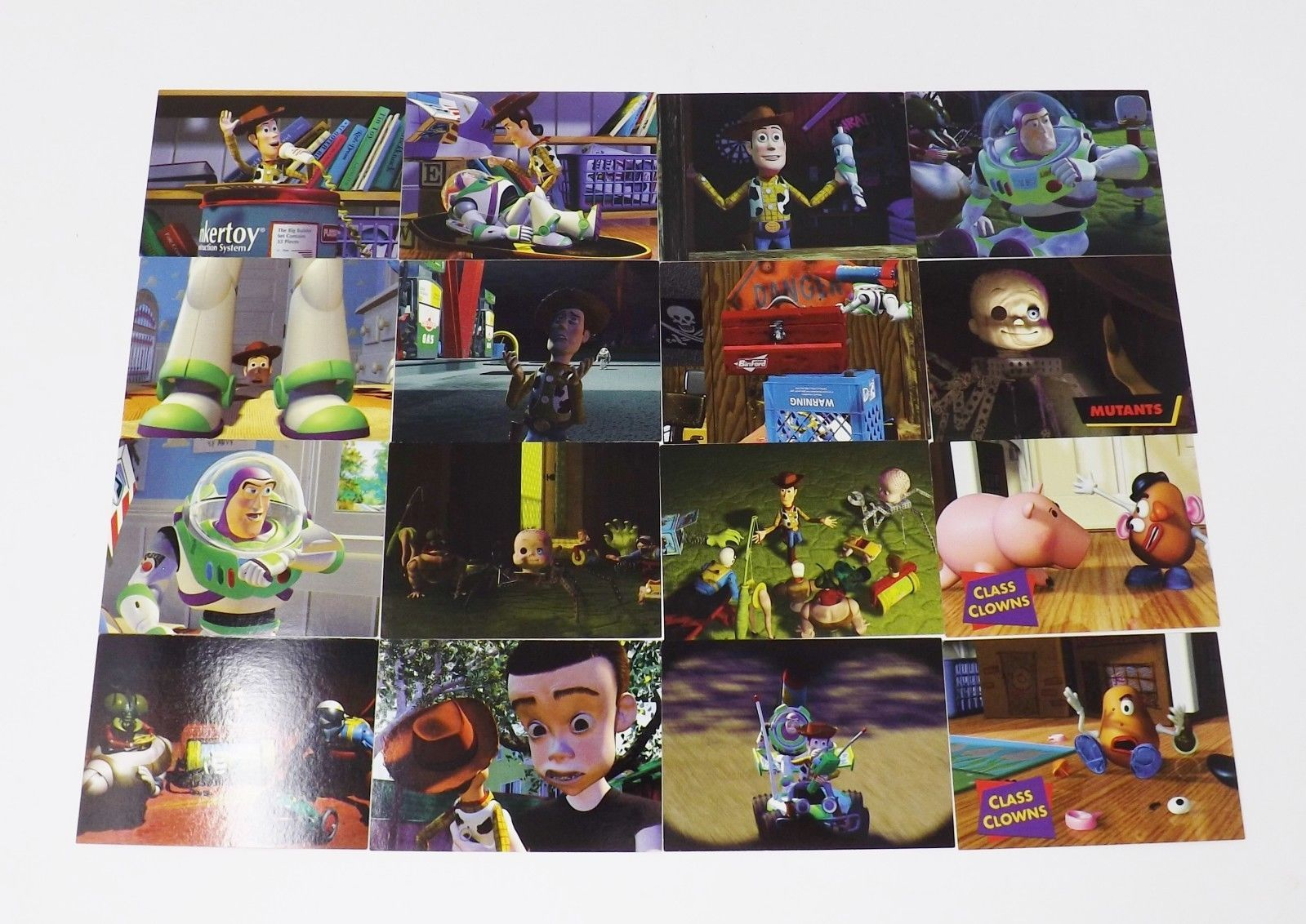Skybox Toy Story Walt Disney Trading Cards - 24 Card Lot