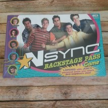 Nsync Backstage Pass Game ~ Boy Band Board Game 2000 Factory Sealed - $31.43