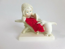 """Snowbabies """"Wrinkle Free"""" Snowbaby Ironing with Penguin w/Box 2008 - $19.34"""