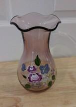 FENTON - Amethyst Floral Vase Designed by Fenton For Teleflora - $12.59