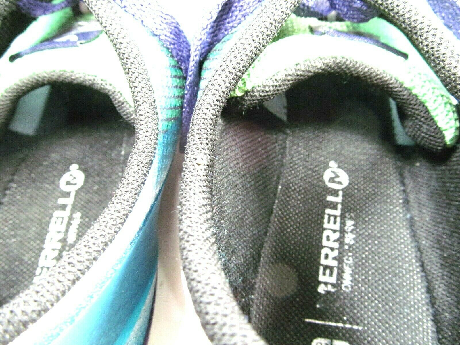 Merrell M Connect Womens Vapor Glove 2 Shoes Bright Green And Purple Size US 10 image 6