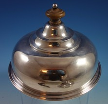 English Sterling Silver Quail / Cheese Dome (#1512) - $845.60