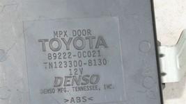 89222-0C021 Toyota Tailgate Computer, MPX Multiplex Network Door 892220C021 image 2