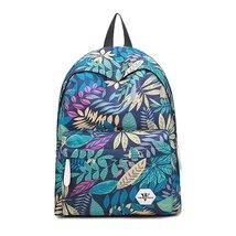 Girls Canvas Backpack Floral Print Lightweight Bookbag School Backpacks ... - €26,52 EUR