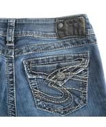 Silver Suki Surplus Dark Wash Flap Pocket Stretch Denim Jeans Womens 27 ... - $34.52