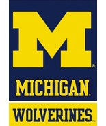 University of Michigan (U of M) 28 x 40 Banner Flag - ipg Sports - £10.71 GBP