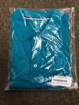 French Toast Short Sleeve Pique Polo School Uniform Shirt, Teal  -Size 16H - NEW - $19.79