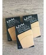 3 x NYX Define and Refine Powder Foundation - SEALED  Color:  DRPF 03 G... - $19.99