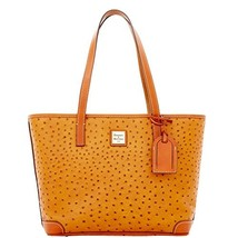 Dooney & Bourke Ostrich Charleston Shopper Tan - $228.00