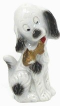 "VTG 1930-40's Anthropomorphic  Porcelain Dog Statue 3.5""H - $31.49"