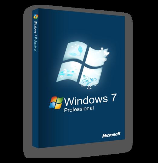 Windows 7 Professional Key 32/64-bit Genuine License Code ...