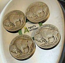 Buffalo Nickel 1930 P, 1934 D, 1936 P and 1937 P AA20BN-CN6099 image 3