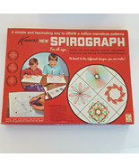 Vtg 1967 Kenner's SPIROGRAPH 401 Blue Tray ARTISTIC Drawing TOY Game Vin... - $38.61