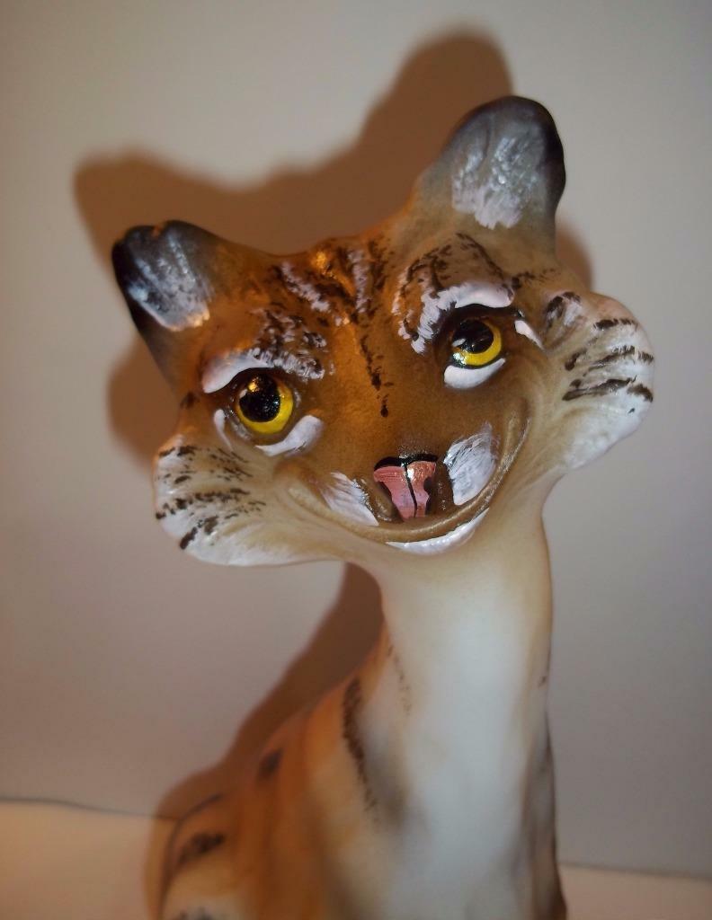 Fenton Glass Natural Bobcat Alley Cat Figurine Ltd Ed GSE #2/20 J.K. Spindler