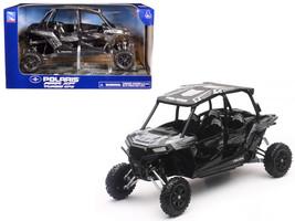 Polaris RZR XP 4 Turbo EPS 4 Seater Titanium Matt Metallic 1/18 Model by New Ray - $35.13
