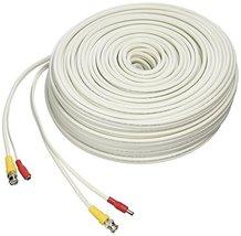 LOREX CB250URB Cb250urb Video Rg59 Coaxial Bnc/Power Cable, 250' (White) - $114.32