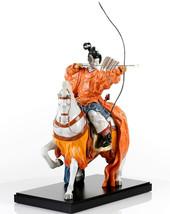 Lladro 01008798 YABUSAME ARCHER Oriental traditions 8798 New in original box - $4,408.44