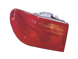 for Mercedes W-210 (1996-06/99) Tail Lamp Assembly LEFT Outer by OEM ULO - $84.15