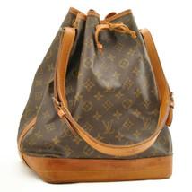 LOUIS VUITTON Monogram Noe Shoulder Bag M42224 LV Auth 9776 **CUT OFF - $298.00