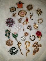 Vintage Designer Brooch Lot - $82.15