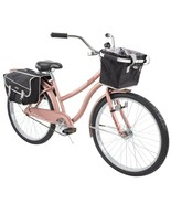 "Women's Classic Marietta Cruiser Bike 26"" Perfect Fit Comfort Ride, Rose... - $274.35"