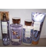4 Pc Bath & Body Works Snowy Morning Gift Set - Shower Gel, Lotion, Mist... - $37.99