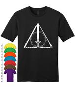Geeky Hallows Mens Gildan T-Shirt New - $19.50