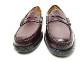 Sebago Mens Sherman Slip On Loafer Cordo Burgundy Leather Size 7.5 E  - $43.53