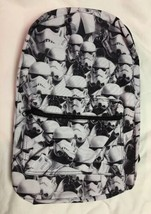 Brand New Star Wars Stormtroopers Backpack Black/White Disney - $39.27