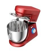 660 W 7.5 Quart 6 Speed Tilt-Head Stand Mixer-Red - $127.82