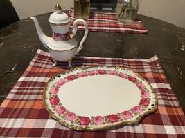 Vintage Platter and Tea Pot  - $15.00