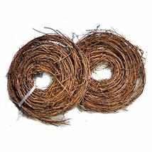 Ougual DIY Crafts Natural Grapevine Twig Garland Wreaths Decor 15-Feet image 2