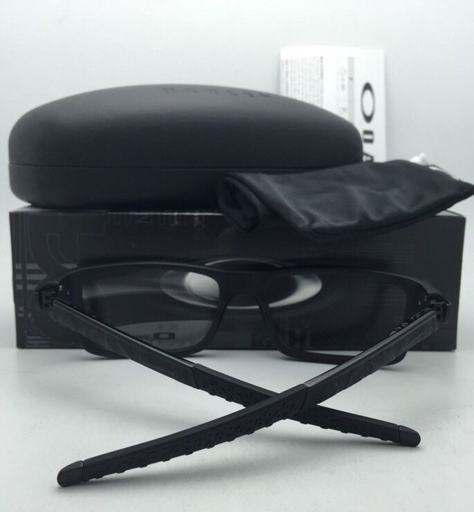 016ff3072e 57. 57. Previous. New OAKLEY Eyeglasses CURRENCY OX8026-1354 54-17 Satin  Black   Grey Rubberized