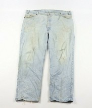Vintage 80s Levis Homme 48x30 Cuir Tab 540 Relax Fit Jeans Vieilli USA - $42.00