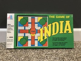Vintage Milton Bradley The Game Of India Board Game  - $21.77