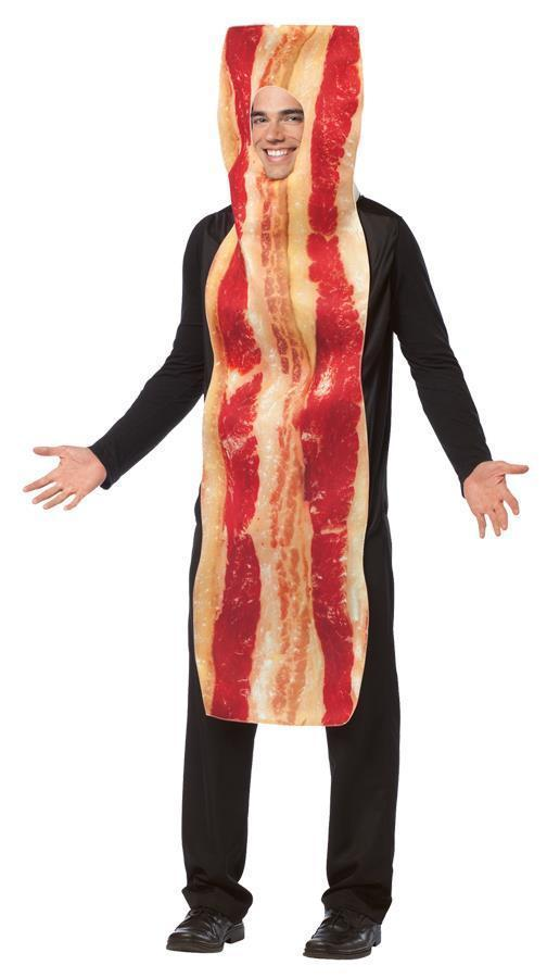 Bacon Adult Costume Food Halloween Party Unique Cheap GC7192