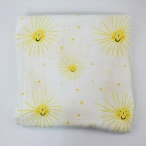 Aden + Anais Blanket Muslin Swaddle Golden Sun Yellow Viscose Bamboo Sof... - $24.99