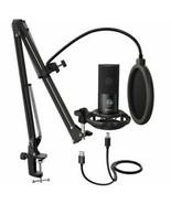 New USA seller Condenser Microphone vlog studio mounting recording Kit - $68.31