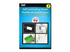 Jot Self-Laminating Sheets (3pc)